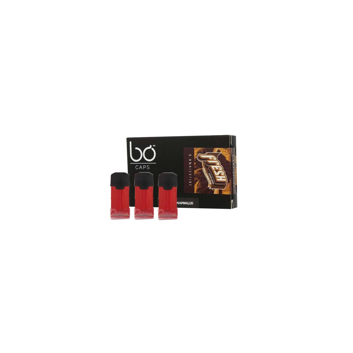 Bo Vaping Cap Tobacco - 3 Pack