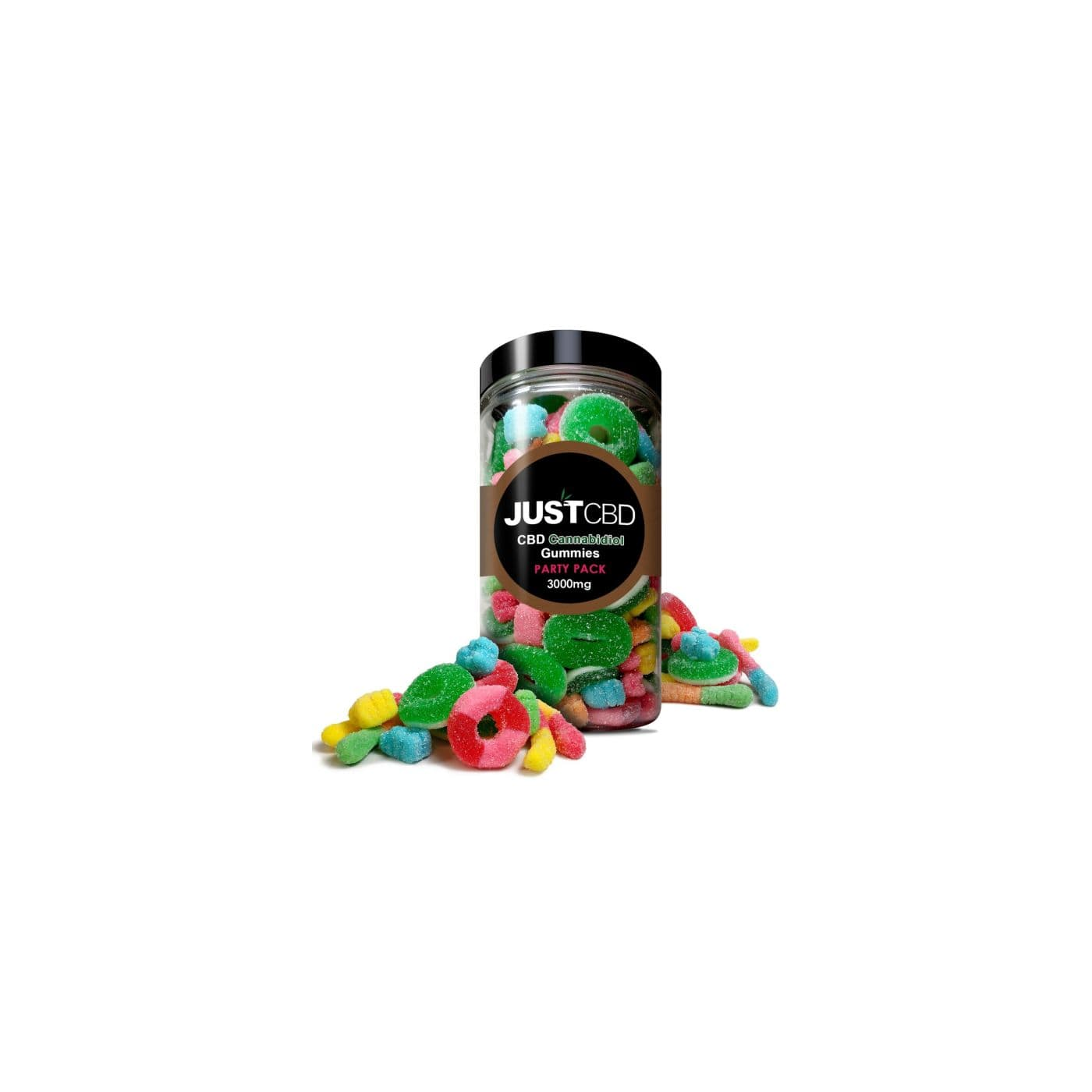 JustCBD Gummies Party Variety Pack