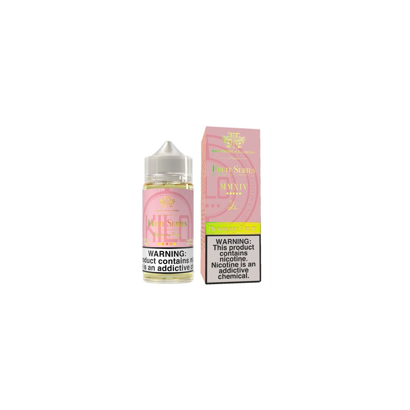 Dewberry Fruit 60ml E-Juice by Kilo White Series