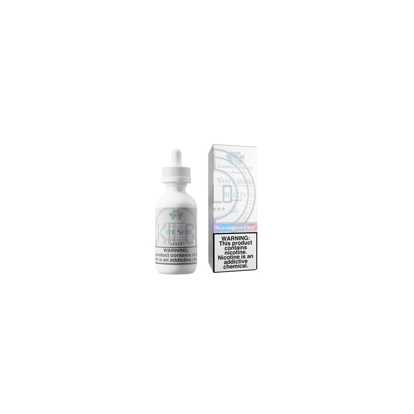Marshmallow Crisp 60ml E-Juice - Kilo White Series E-liquid