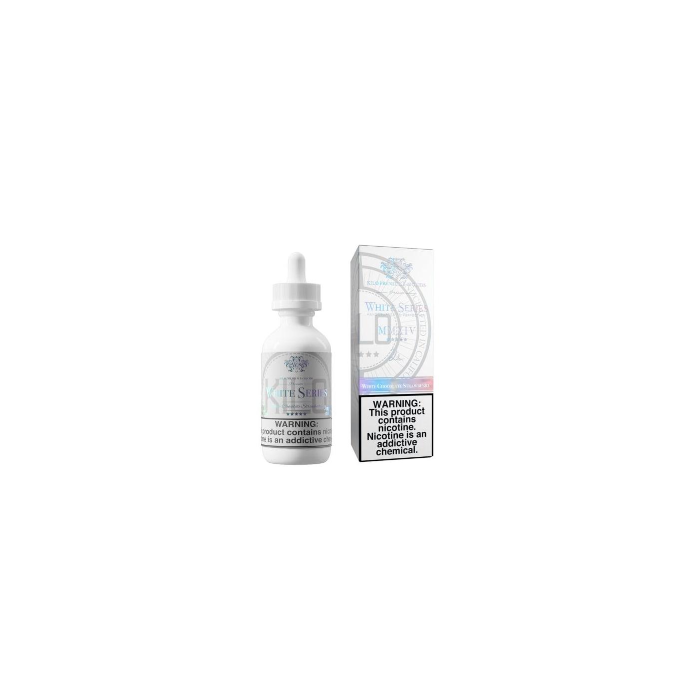 Kilo White Series Vape Juice - White Chocolate Strawberry E-Liquid