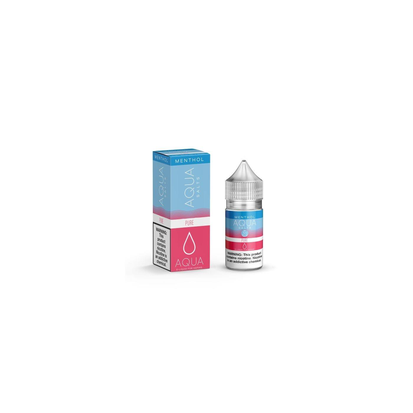 Aqua Salts Menthol Pure