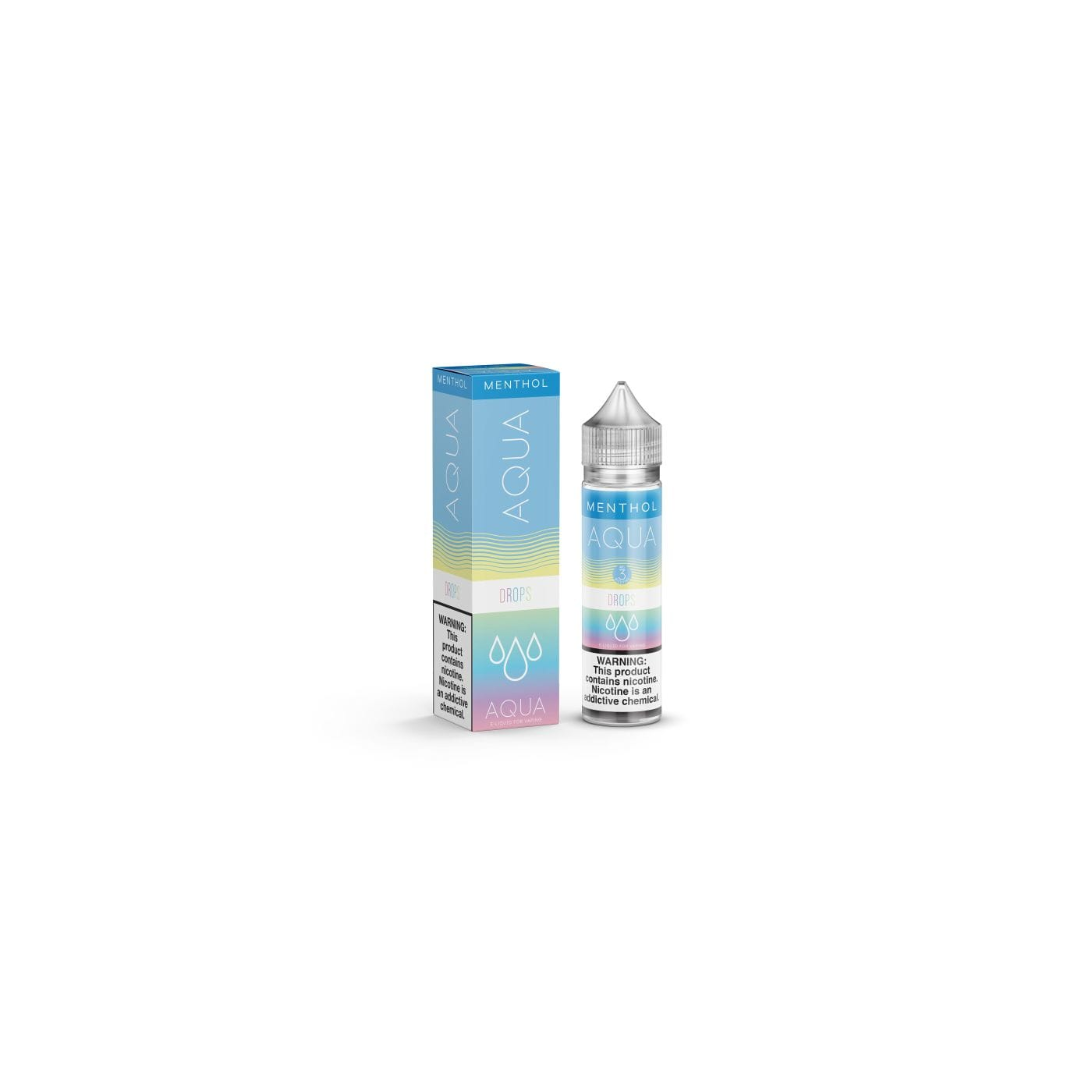 Aqua Drops Menthol Synthetic Nicotine