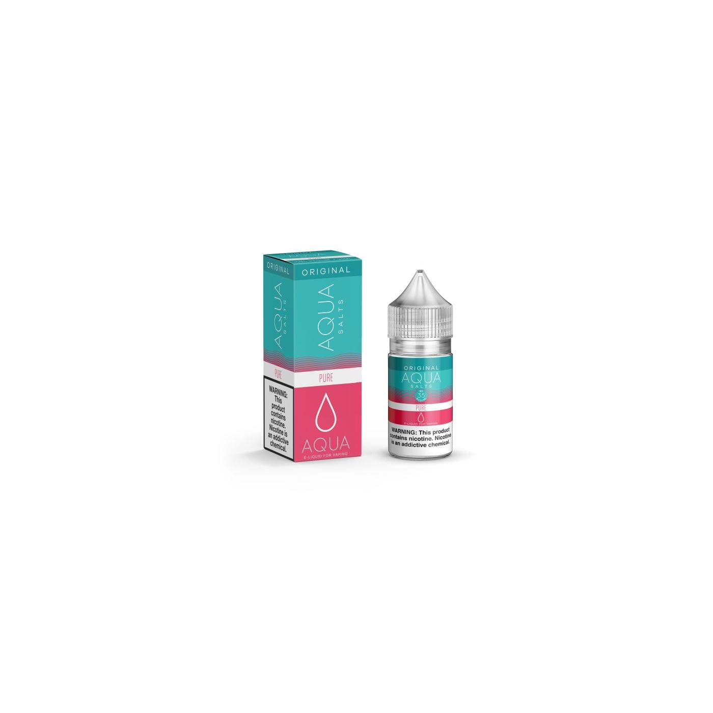 Aqua Salts Pure Synthetic Nicotine