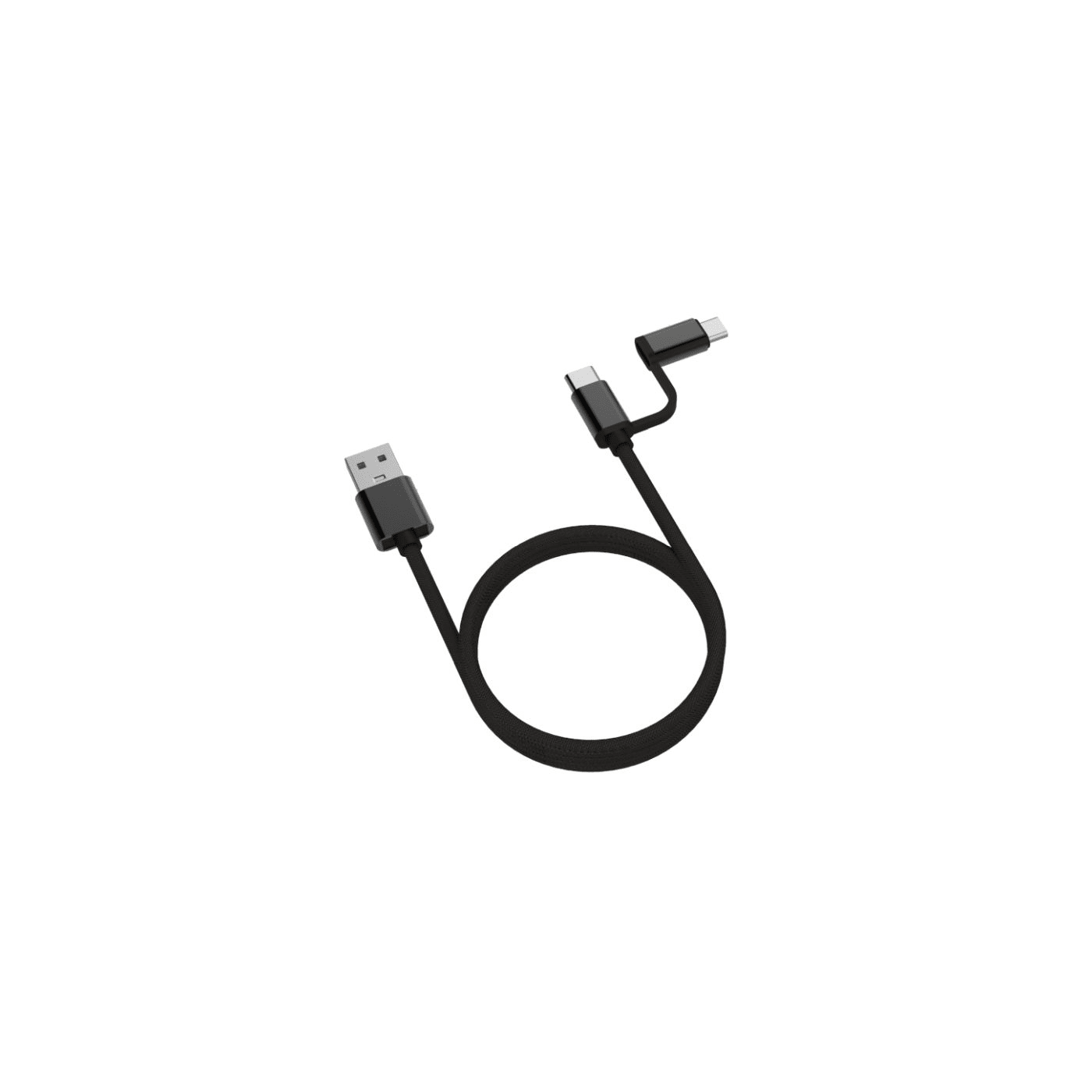 Pownergy Type-C 2 in 1 Cable