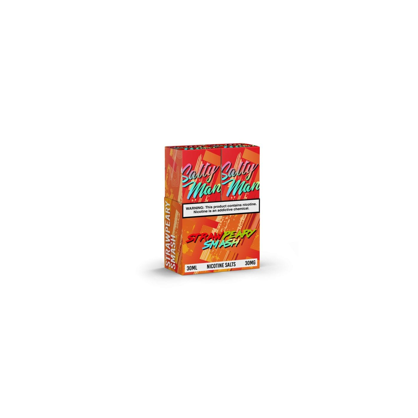 Salty Man Strawpeary Smash - 2 Pack