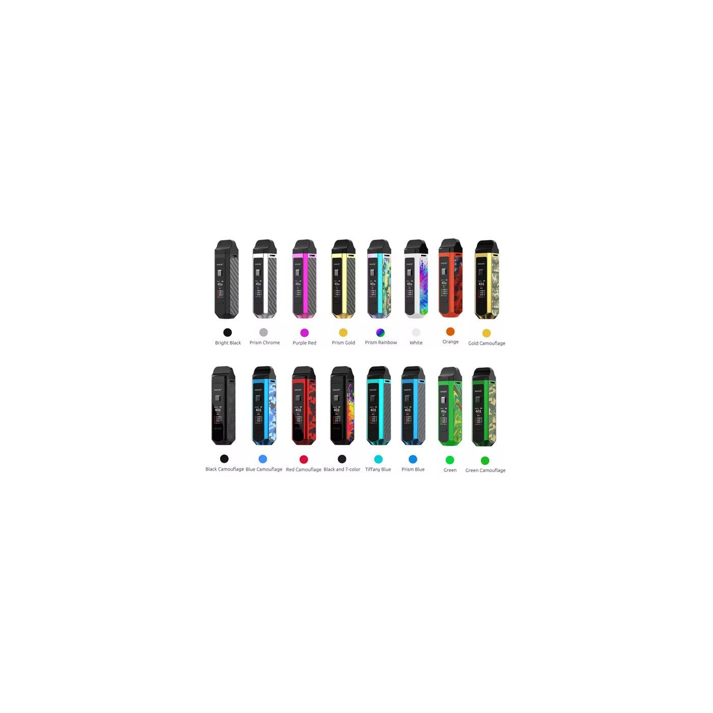 SMOK RPM 40 KIT - All Color Options