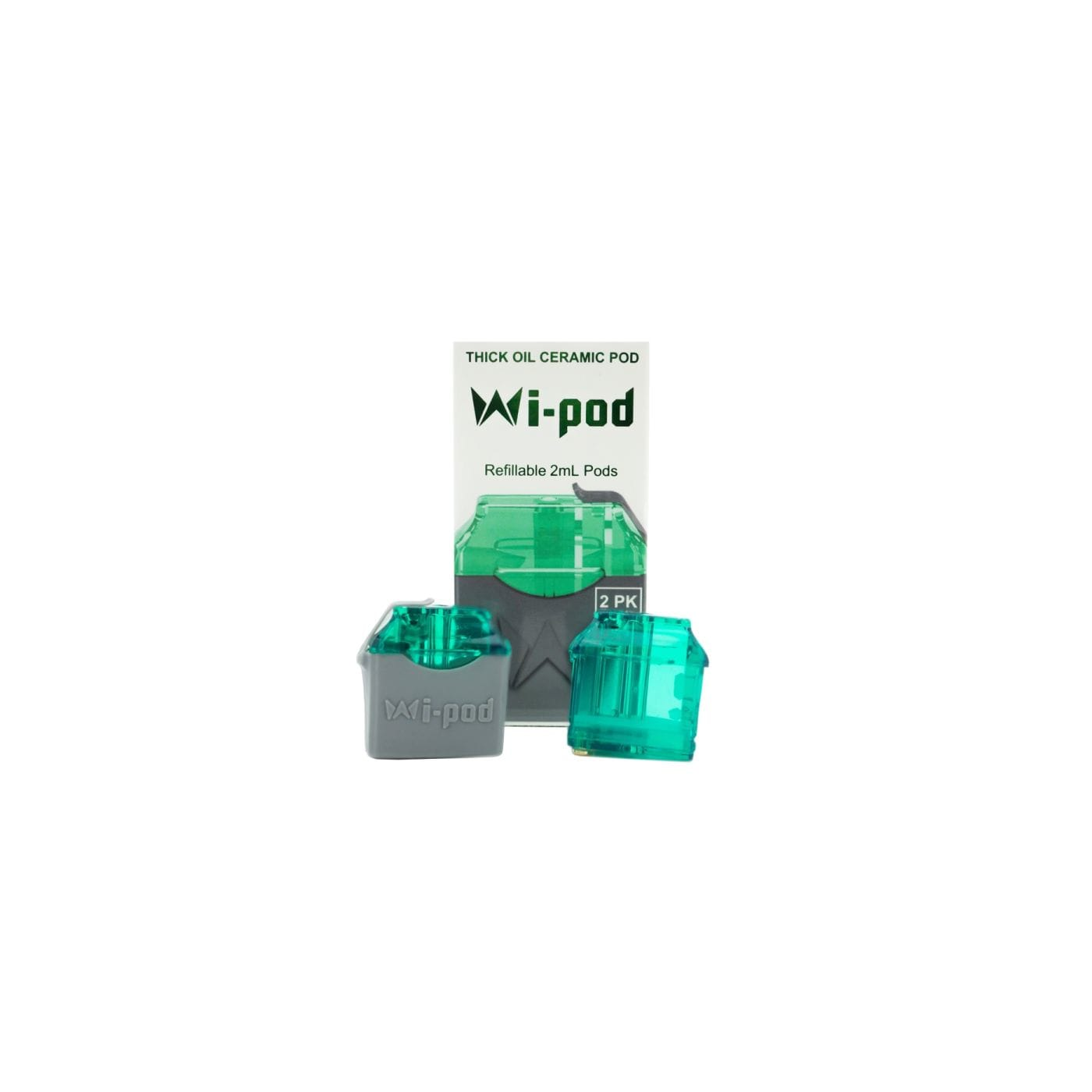 Smoking Vapor WiPod Replacement Pods - 2 pack