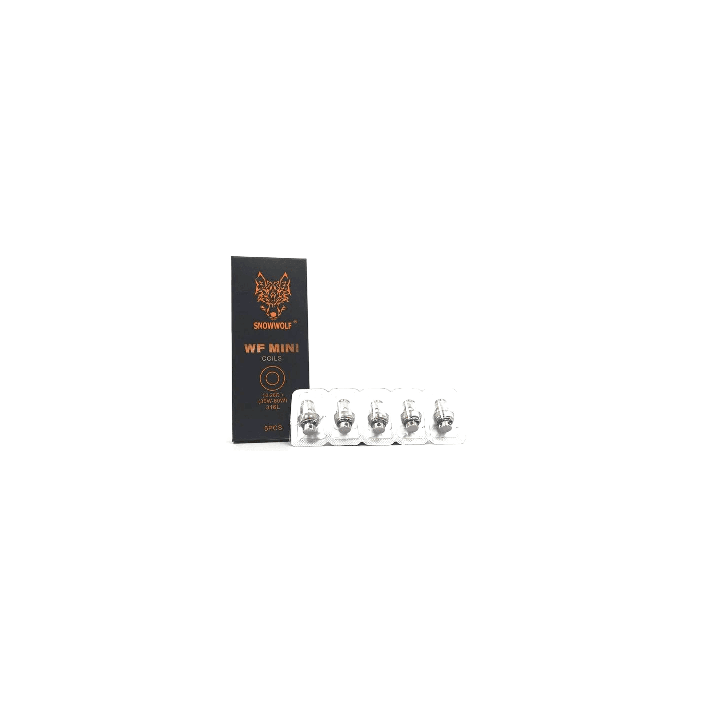 Snowwolf WF Mini Replacement Coil - 5 pack - 0.28 ohm