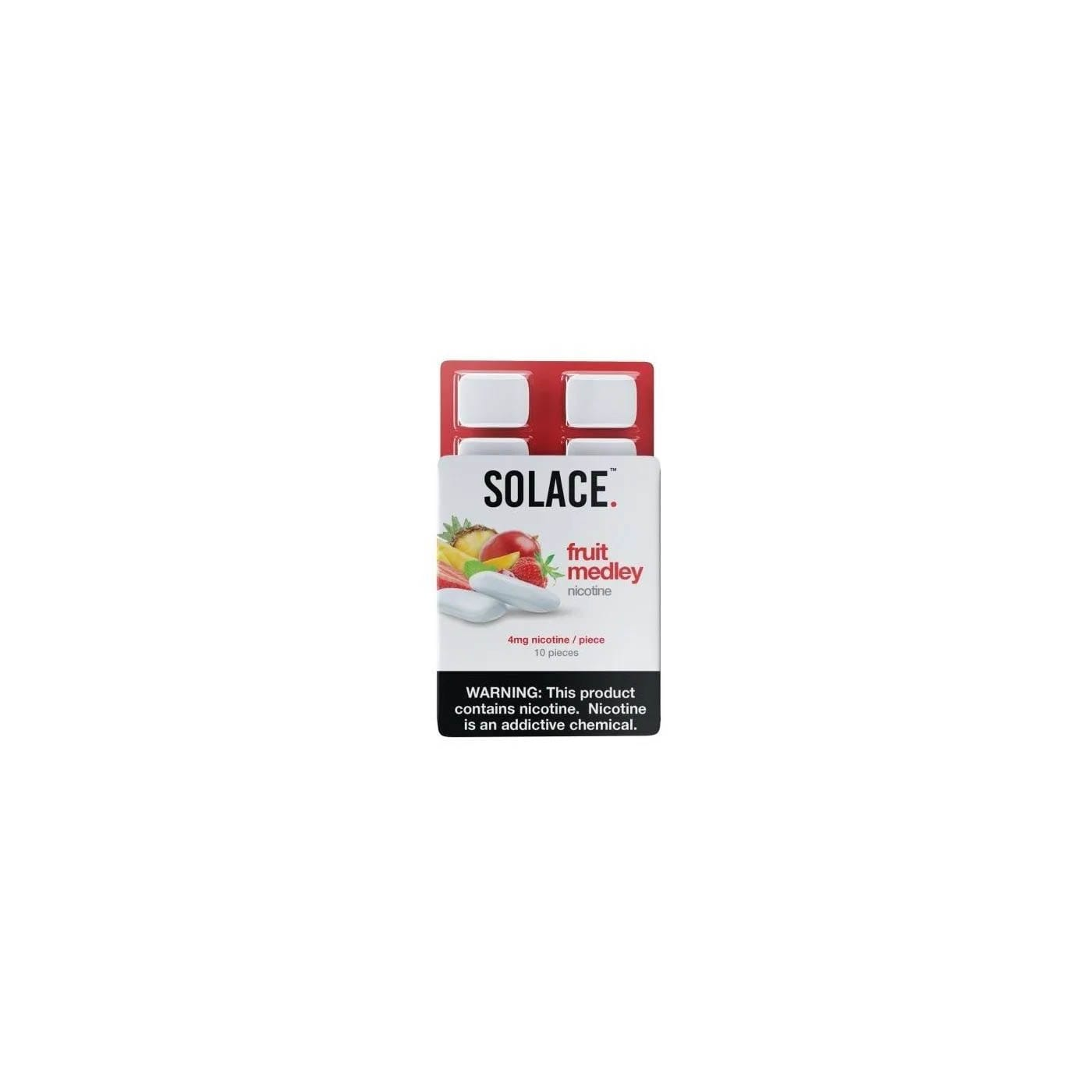 SOLACE CHEW FRUIT MEDLEY - 1 PACK (10 PCS)
