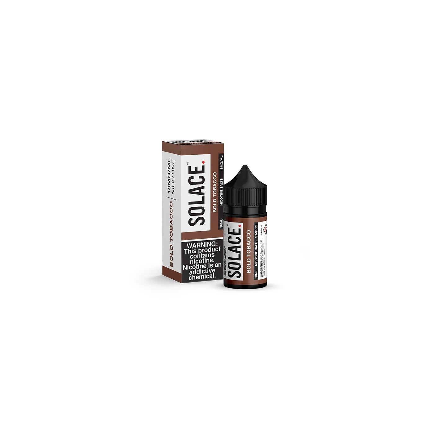 Solace Salts Bold Tobacco