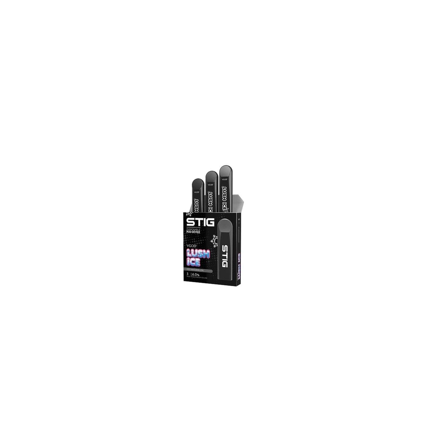 Stig Disposable Pod Lush Ice - 3 Pack