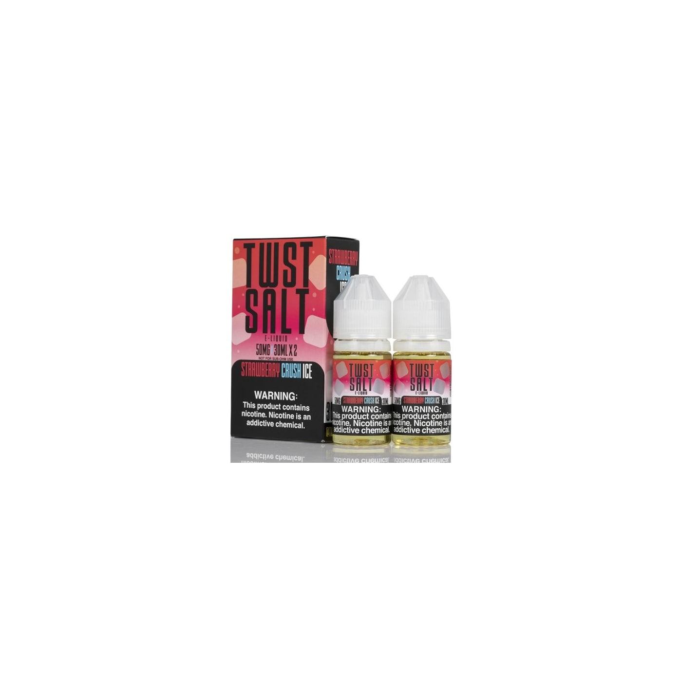 Twist Salts Iced Strawberry Crush - 2 Pack