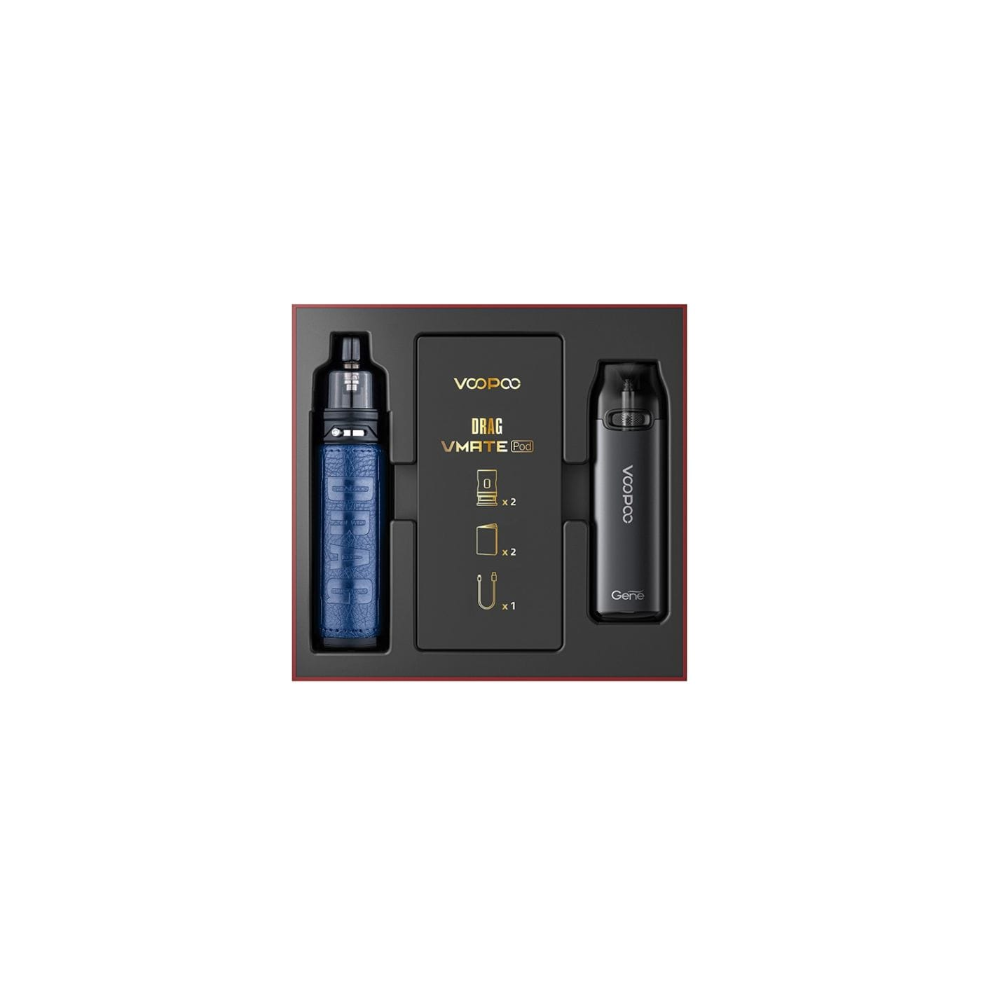 VooPoo Drag X & VMATE Pod Limited Edition Set