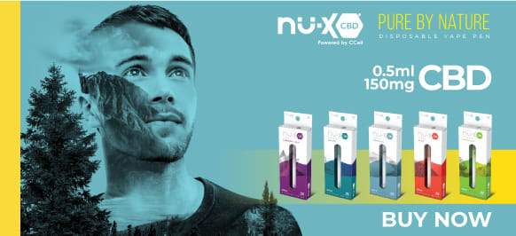 Nu-X CBD Disposables